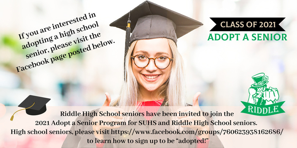 Adopt a Riddle High School Senior