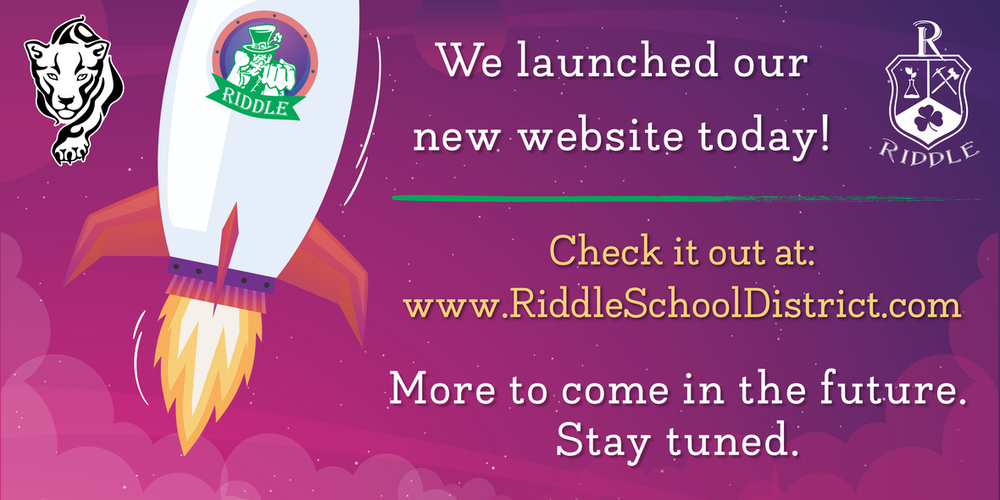 Riddle School District Launches a Redesigned Website